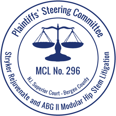 Plaintiffs' Steering Committee for NJ MCL No. 296